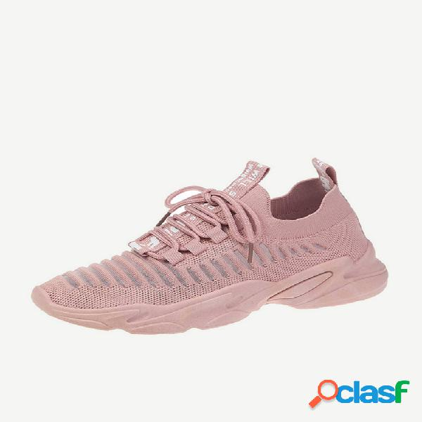 Mujer calzado deportivo informal transpirable