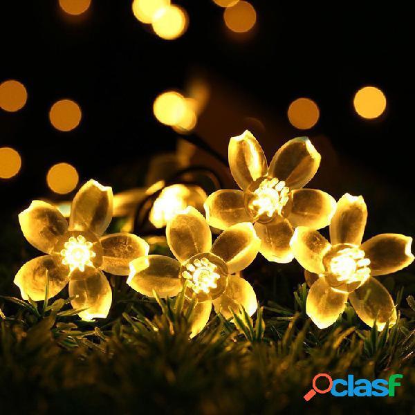 La cadena de la flor de kcasa 5m 50 led sakura enciende luces de hadas del led para la decoración casera de la navidad del festival