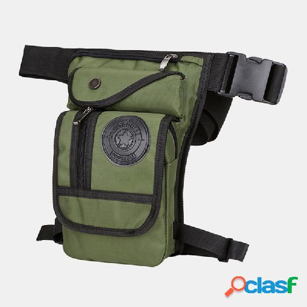 Nylon al aire libre cadera multifunción bolsa cinturón bolsa para mujer hombres