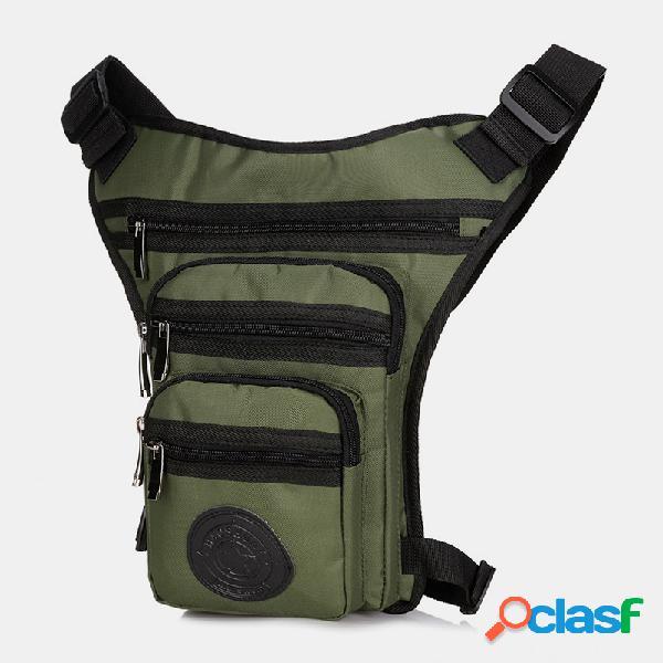 Nylon multifunción cinturón bolsa crossbody bolsa para mujer hombres