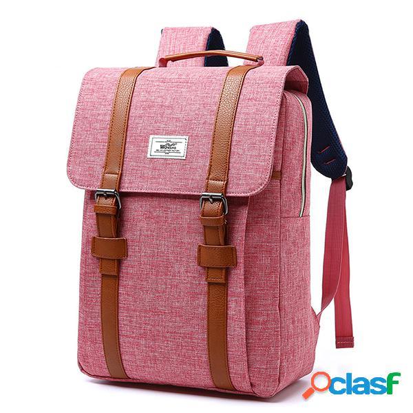 Multi-funcional de gran capacidad casual travel 15 inch laptop bolsa mochila para mujer hombres