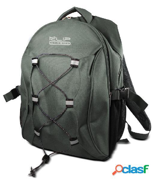 Klip xtreme mochila de poliéster para laptop 15.4'' verde