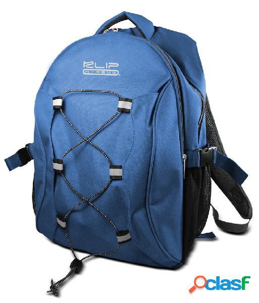 Klip xtreme mochila de poliéster para laptop 15.4'' azul