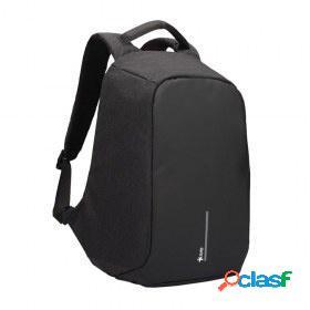 Stylos mochila de poliéster stabap1b para laptop, negro