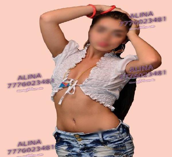 ALINA:: CACHONDA DE BUEN CULO, MONTATE EN MIS NALGUITAS