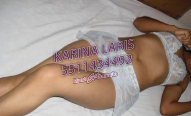 FRESCURA & PASIÓN!!! KARINA LARIS 100% HOT