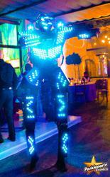 Robot led show / led show para fiestas y eventos en puebla