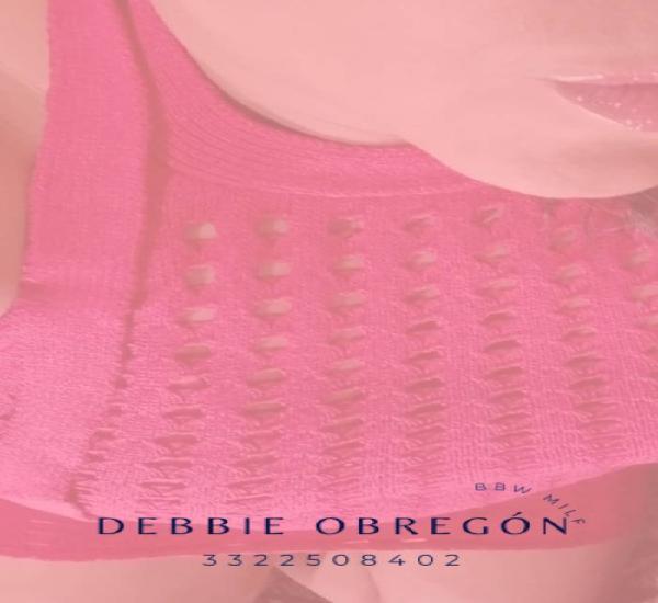Soy Debbie Obregon quiero compartir una fantasia