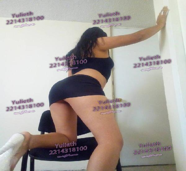 Yulieth chica joven linda de cuerpo y cara