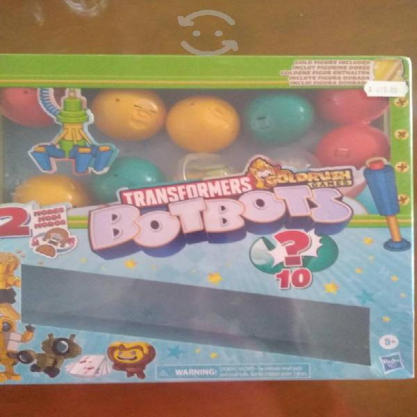 10 sorpresas Botbots Transformers Juego divertido