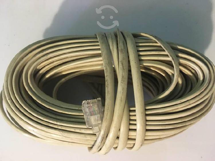 Cables para telefonia fija 5 metros