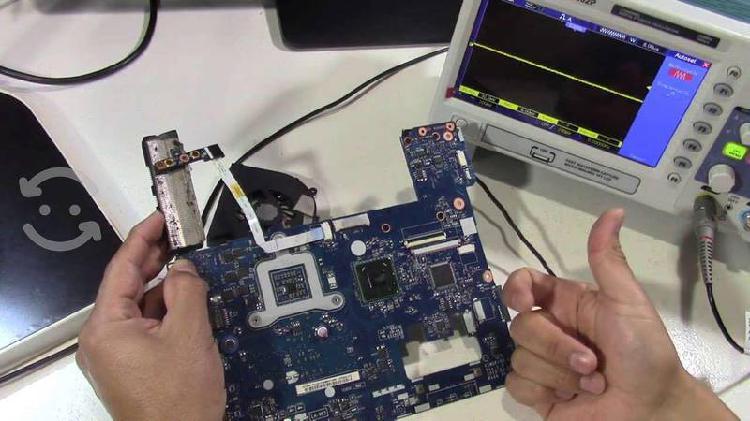 Capacitación reparación laptop a nivel componente