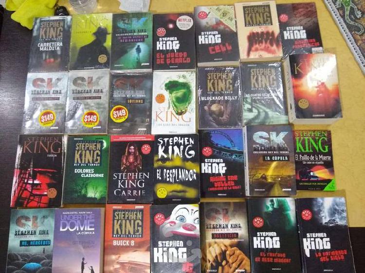 Pack de libros de stephen king