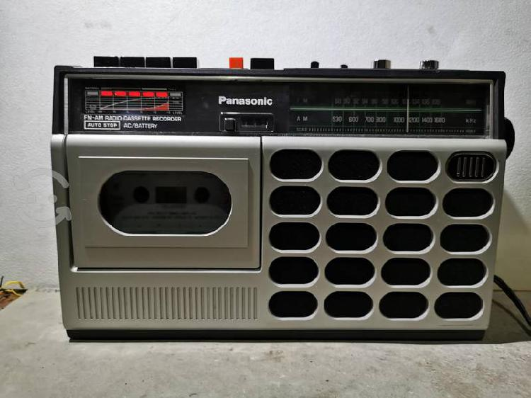 Radio grabadora panasonic japonesa rx-1660.