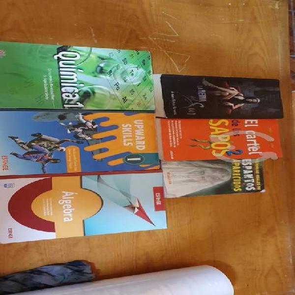 Set de libros la reyna del sur el cartel quimica