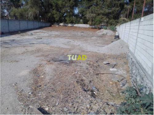 Terreno bardeado, sesión de derechos, 1200 m2 san gaspar