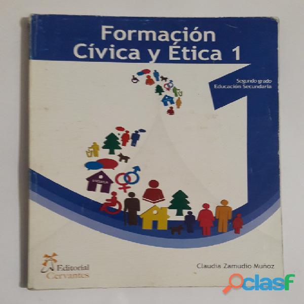 Formación cívica y ética i segundo grado secundaria