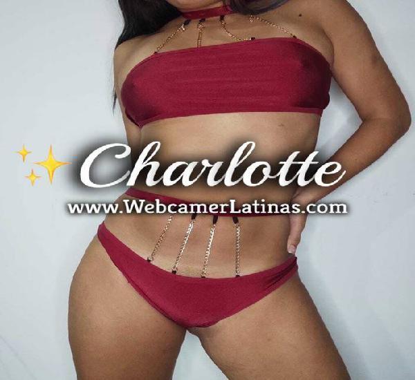 CHARLOTTE 18 años Videollamadas Eroticas