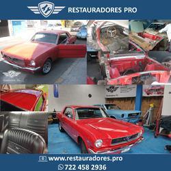 Mustang restauración