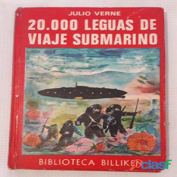 Llibro 20.000 leguas de viaje submarino de julio