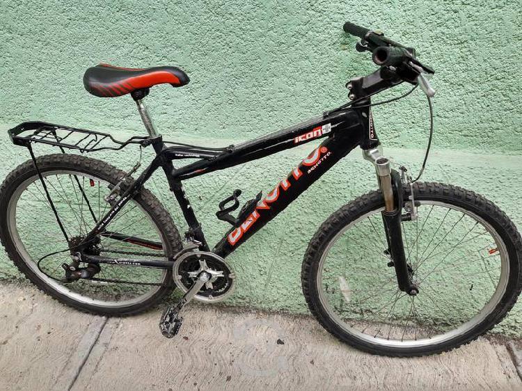 Bicicleta benotto icon+ aluminio r26