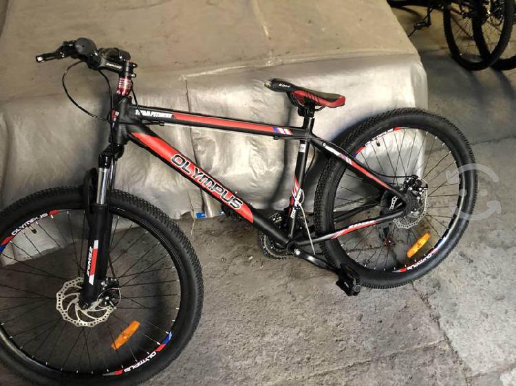 Bicicleta olimpus rodado 26 montaña aluminio nuevo
