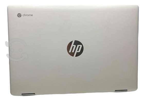 Chromebook x360,semi-nuevo,color: blanco marmol