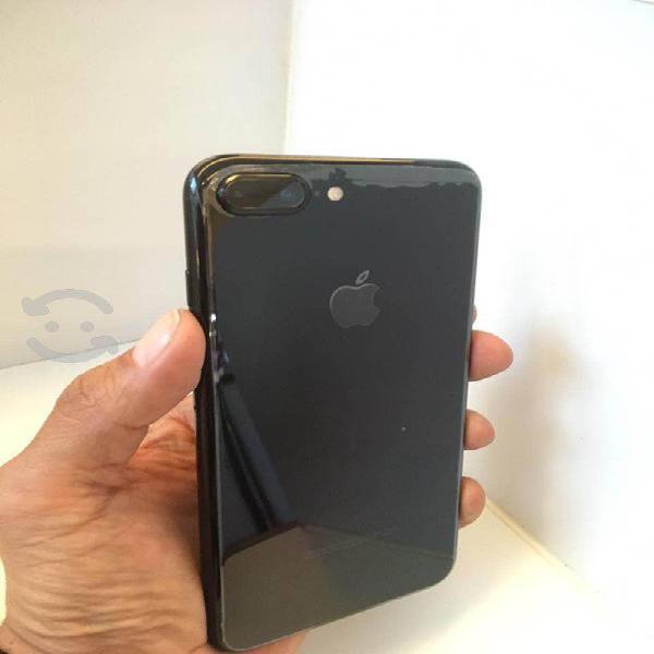 Iphone 7 plus jetblack 256 gigas