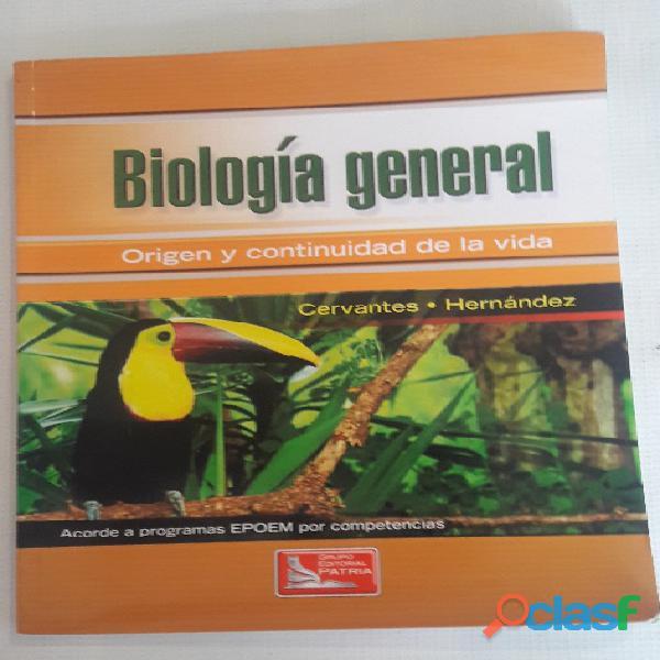 Libro biología general origen y continuidad de la vida