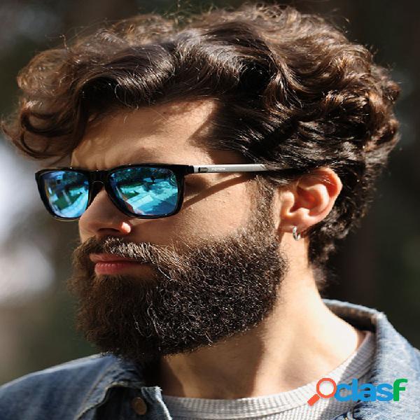 Gafas de sol polarizadas para hombre y mujer colorful gafas de sol de moda aluminio- patillas