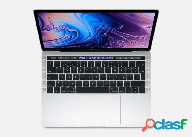 """Apple macbook pro retina muhr2e/a 13.3"""", intel core i5 1.40ghz, 8gb, 256gb ssd, plata (agosto 2019)"""