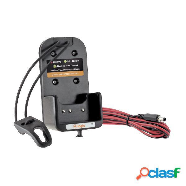 Power Products Cargador Vehicular para Radio PP-LVC-KSC32, 7.2 - 10.8V, Negro, para Kenwood