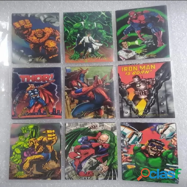 Pepsi cards marvel 1994