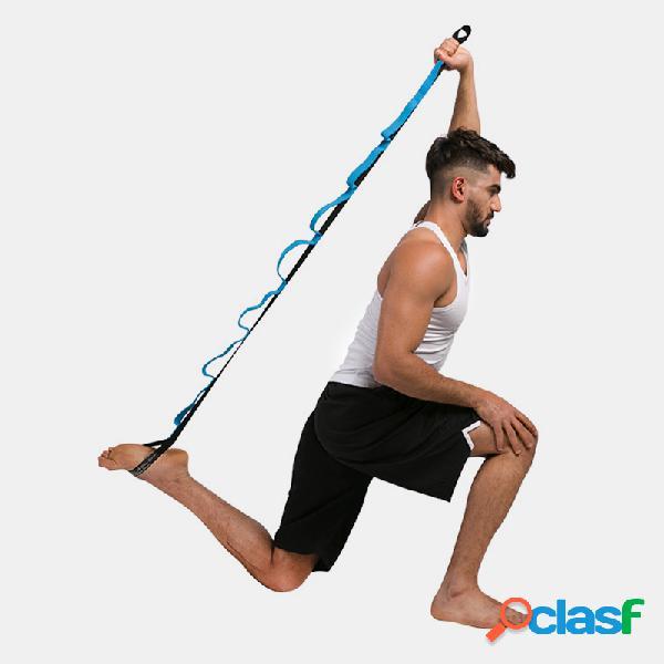 Aeróbicos yoga estiramiento bandaa yoga estiramiento bandaa antena antigravedad yoga accesorios para hamacas