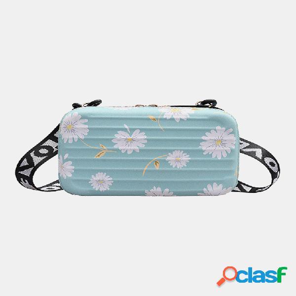 Mujer daisy casual crossbody bolsa teléfono bolsa