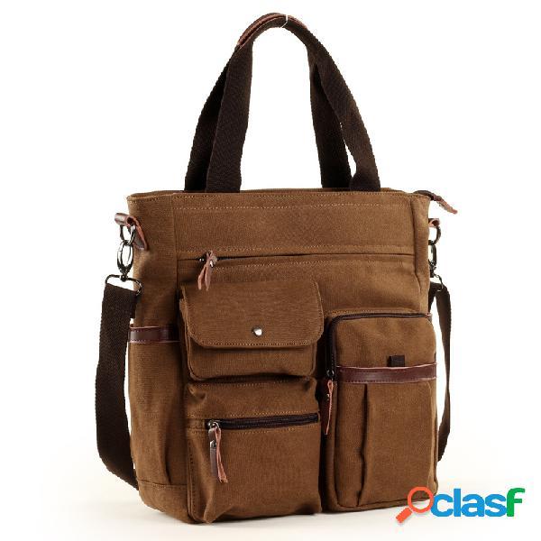 Bolso de hombre maletines de lona