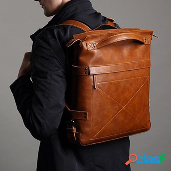 Bolso casual hombre multifunción mochila para portátil