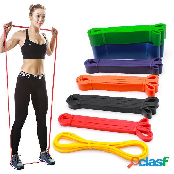 15-175lb aptitud bandas de resistencia pilates yoga banda multifunción sport elastic rubber band