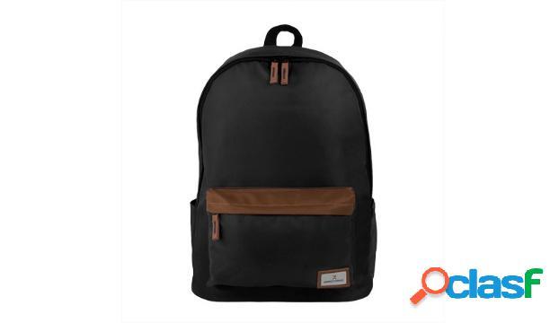 """Perfect choice mochila de poliéster indie para laptop 15"""", negro"""