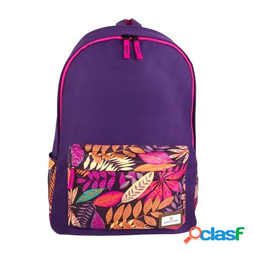 "Perfect choice mochila de poliéster pc-083375 para laptop 15"", morado"