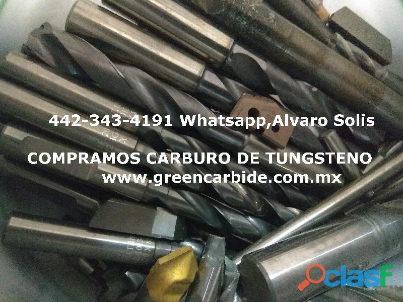 Scrap de carburo de tungsteno en mexicali