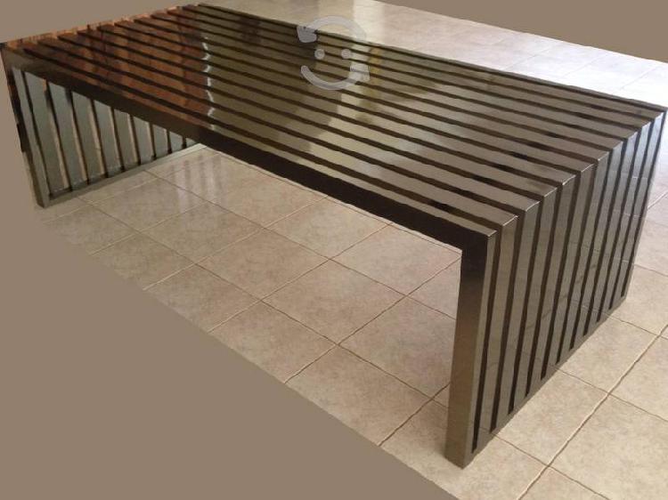 Centro de entretenimiento minimalista mesa para tv
