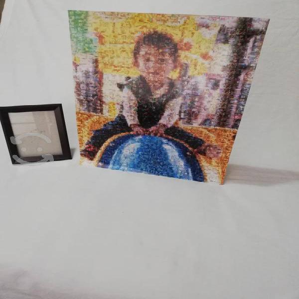 Cuadro mosaico personalizado