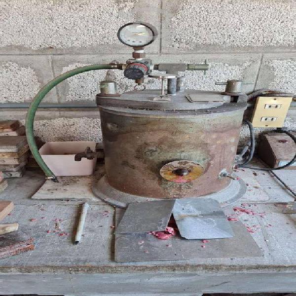 Inyector de cera para joyeria