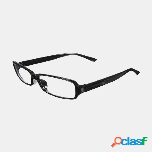 Hombre mujer retro clear shell lente plain nerd geek gafas gafas