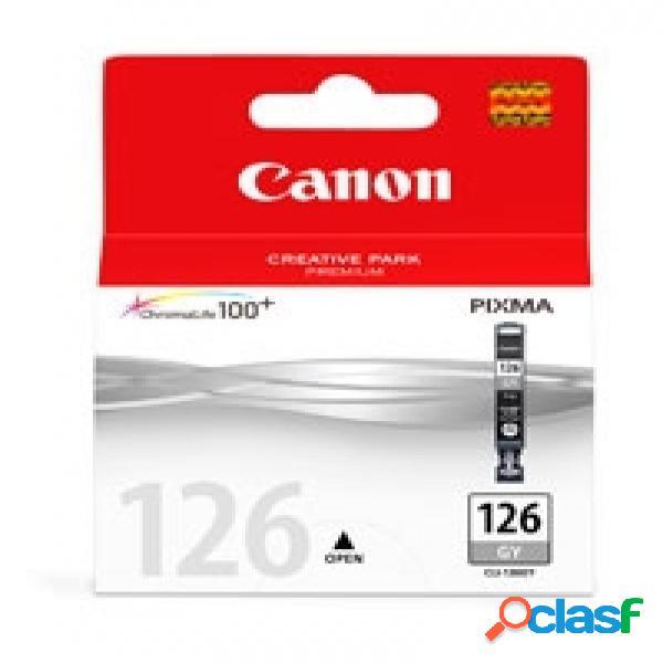 Cartucho canon cli-126 gris, 210 páginas