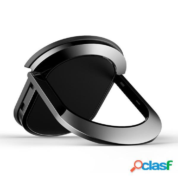 Soporte anillo de dedo metal teléfono móvil anillo de teléfono magnético redondo coche soporte de montaje