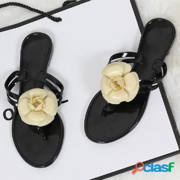 Mujer chanclas casuales playa antideslizantes zapatillas
