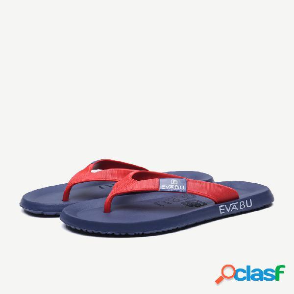 Chanclas transpirables de gran tamaño para hombres playa zapatos