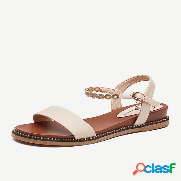 Zapatos de mujer fairy sandalias nuevo estilo de mujer con pendiente baja y red salvaje punta abierta roja en medio de la marea interior